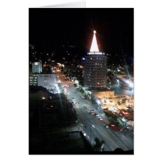 Los Angeles city views Greeting Card