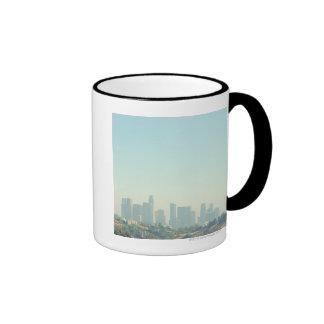 Los Angeles Cityscape Coffee Mugs