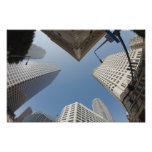 Los Angeles Downtown Skyline Poster