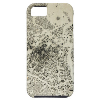 Los Angeles Downtown Streets and Buildings Vintage iPhone 5 Cover