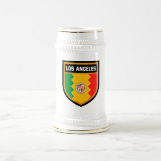 Los Angeles Flag Beer Stein