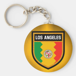 Los Angeles Flag Key Ring