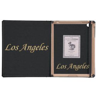 Los Angeles Gold - On Black iPad Case