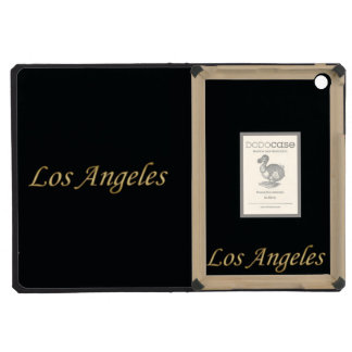 Los Angeles Gold - On Black iPad Mini Retina Case