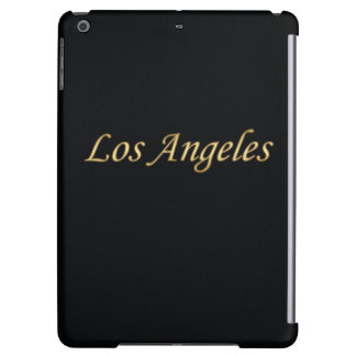Los Angeles Gold - On Black iPad Air Covers