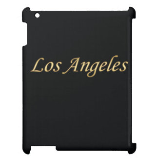 Los Angeles Gold - On Black iPad Cover