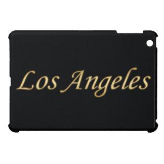 Los Angeles Gold - On Black iPad Mini Covers