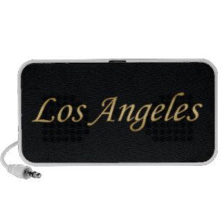 Los Angeles Gold - On Black Mp3 Speakers
