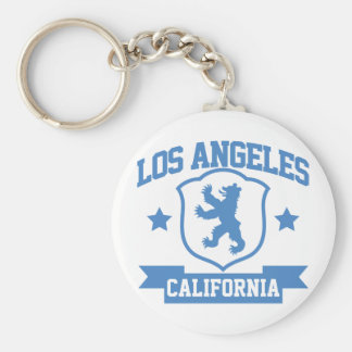 Los Angeles Heraldry Key Ring