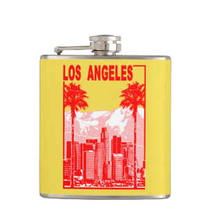 Los Angeles Hip Flask