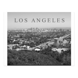 Los Angeles in Black and White Postcards