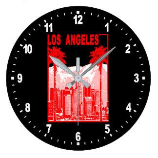 Los Angeles Large Clock