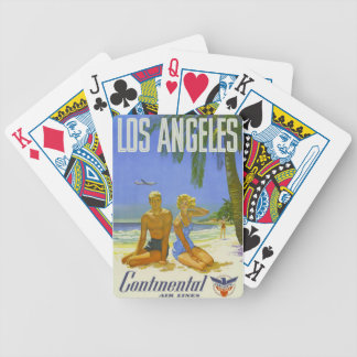 Los Angeles Love Bicycle Playing Cards