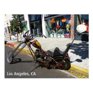 Los Angeles Motorcycle Postcard! Postcard