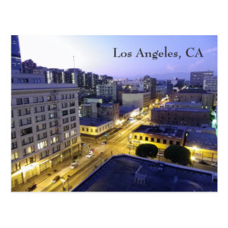 Los Angeles Night Postcard! Postcard