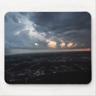 Los Angeles Night Time View Sunset Mouse Pad