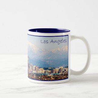 Los Angeles Panorama Coffee Mug