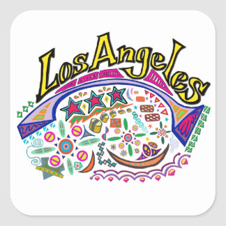 """""""Los Angeles Playful"""" Stickers"""