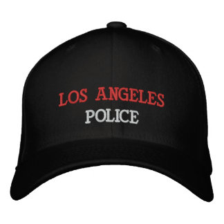 LOS ANGELES, POLICE EMBROIDERED HATS
