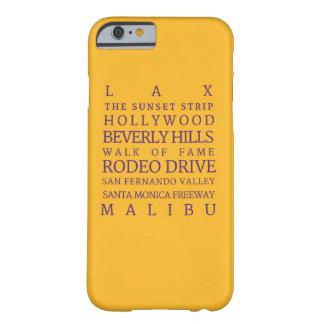 Los Angeles Purple-Gold | iPhone 6/6s Phone Case