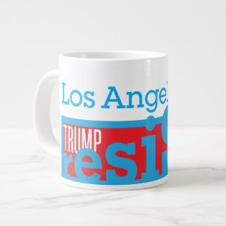 Los Angeles Resist Large Coffee Mug