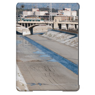 los angeles river flow iPad air covers