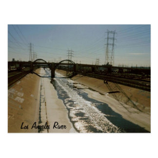 Los Angeles River Postcard