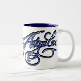 Los Angeles Rockabilly Mug - L.A. Blue