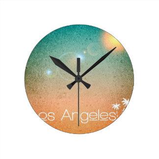 Los Angeles Round Clock