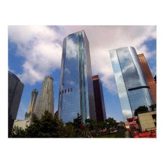 Los Angeles Skyline, Los Angeles Postcard
