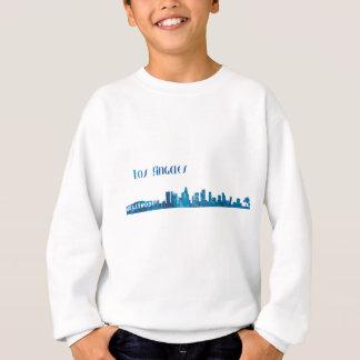 Los Angeles Skyline Silhouette Sweatshirt
