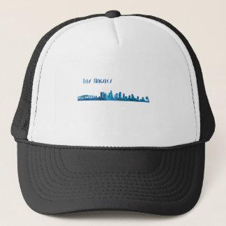 Los Angeles Skyline Silhouette Trucker Hat