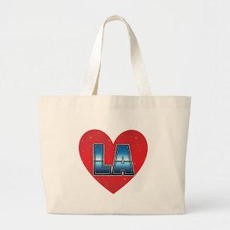 Los Angeles Sparkle Heart Jumbo Tote Jumbo Tote Bag