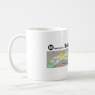 Los Angeles Subway to the Sea Coffee Mug