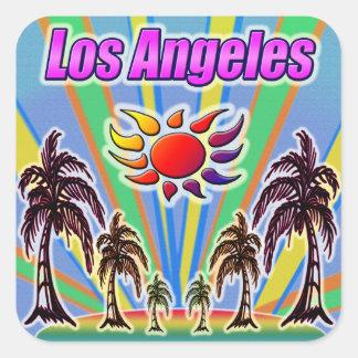 Los Angeles Summer Love Sticker