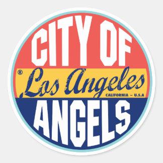 Los Angeles Vintage Label