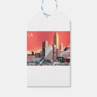 Los Angeles Vintage Travel Gift Tags