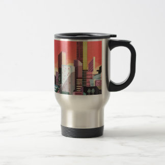 Los Angeles Vintage Travel Travel Mug
