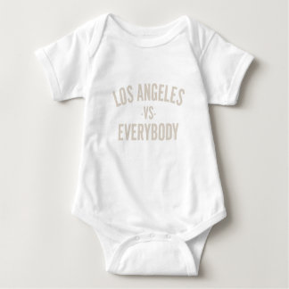 Los Angeles Vs Everybody Baby Bodysuit