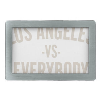 Los Angeles Vs Everybody Belt Buckle