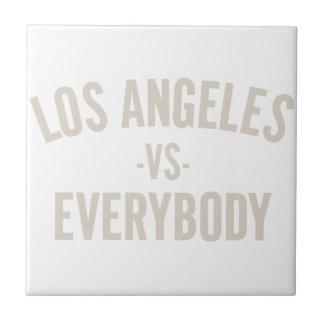 Los Angeles Vs Everybody Tile