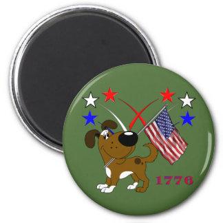 Los Cachorros 6 Cm Round Magnet