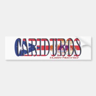 Los Cariduros de Fajardo Bumper Sticker