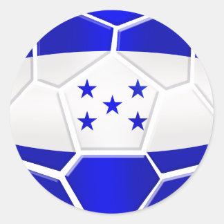 Los Catrachos Honduras soccer ball gifts Classic Round Sticker