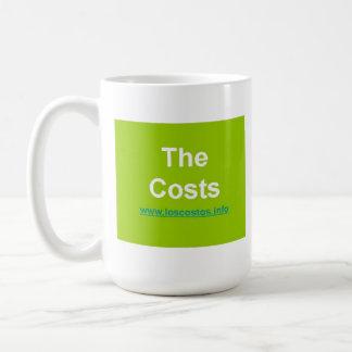 Los Costos - The Costs Basic White Mug