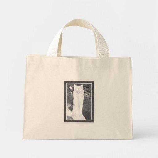 los gatos cats right tote bags