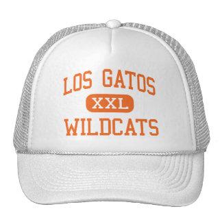 Los Gatos - Wildcats - High - Los Gatos California Mesh Hat