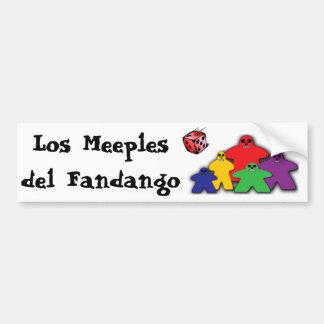 Los Meeples del Fandango Bumper Sticker