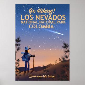 Los Nevados National Natural Park Travel poster