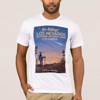 Los Nevados National Natural Park Travel poster T-Shirt